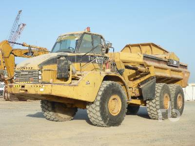 2004 CATERPILLAR 740 Ejector 6x6 Articulated Dump Truck