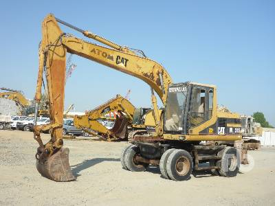2001 CATERPILLAR M315 Mobile Excavator