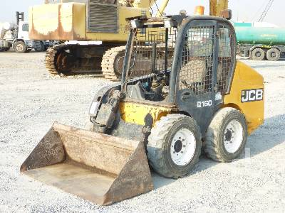 2011 JCB 160 Skid Steer Loader