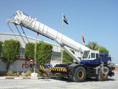 TADANO TR600EXL 60 Ton 4x4x4 Rough Terrain Crane