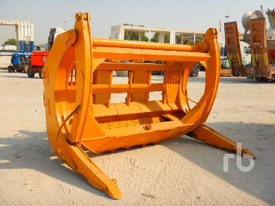 Hydraulic Log Wheel Loader Grapple