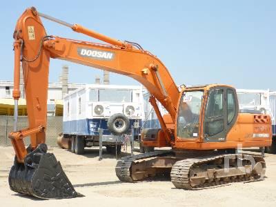 2014 DOOSAN DX210 Mobile Excavator