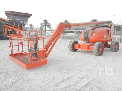 2003 JLG 600AJ 4x4 Articulated Boom Lift