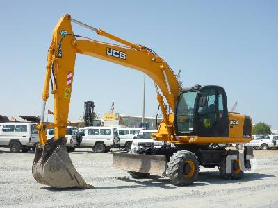 2007 JCB JS175W Mobile Excavator
