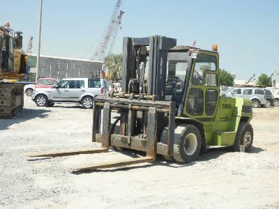 2008 CLARK C80D 8 Ton Forklift