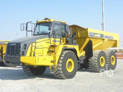 KOMATSU HM400-3R 6x6 Articulated Dump Truck