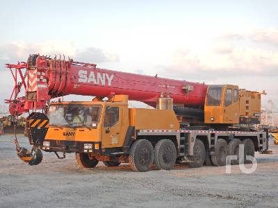 2017 SANY QY100 100 Ton Hydraulic Truck Crane
