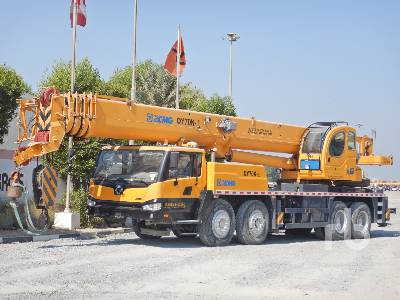 2018 XCMG QY70K-I 70 Ton 8x4x4 Hydraulic Truck Crane