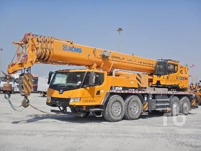 2018 XCMG QY85K_M 85 Ton 8x4x4 Hydraulic Truck Crane