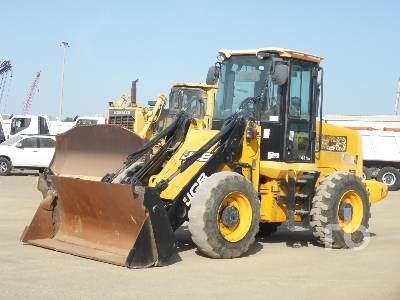 2014 JCB 411 HT Wheel Loader