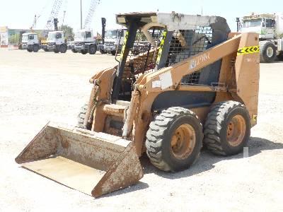 2007 CASE 430 Skid Steer Loader