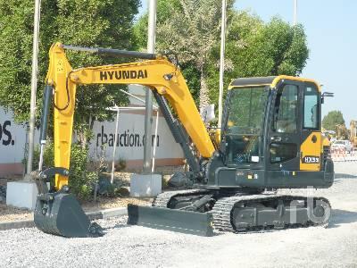 Unused 2020 HYUNDAI HX55N Midi Excavator (5 - 9.9 Tons)