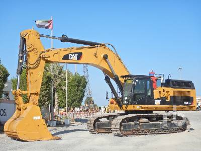 2011 CATERPILLAR 374DL Hydraulic Excavator