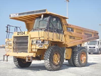 2006 CATERPILLAR 771D Rock Truck