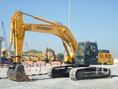2012 HYUNDAI ROBEX 300LC-7 Hydraulic Excavator