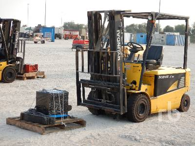 2013 HYUNDAI 30BHA-7 3 Ton Ride On Electric Forklift