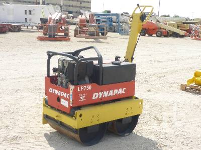 2005 DYNAPAC LP750 Tandem Vibratory Smooth Drum Walk Behind Roller