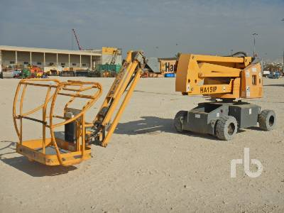 2013 HAULOTTE HA15IP Electric Articulated Boom Lift