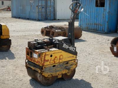 BOMAG Tandem Vibratory Smooth Drum Walk Behind Roller