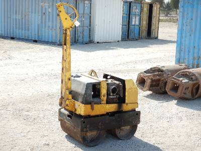 WACKER Tandem Vibratory Smooth Drum Walk Behind Roller