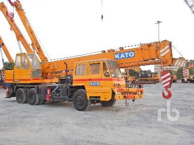 KATO NK200H-III 20 Ton 6x4 Hydraulic Truck Crane