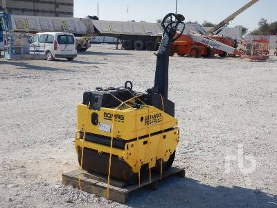 2004 BOMAG BW65H Tandem Vibratory Smooth Drum Walk Behind Roller