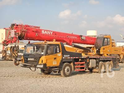 2017 SANY STC300 30 Ton 6x4 Hydraulic Truck Crane