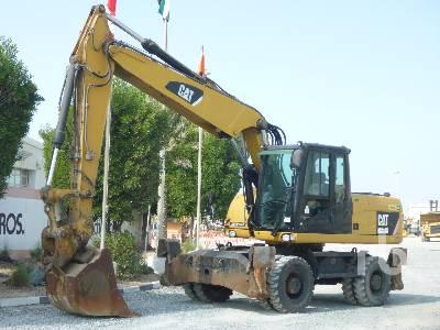 2010 CATERPILLAR M318D Mobile Excavator