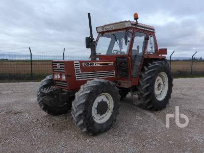 1989 FIAT 100.90 S-DT 4WD MFWD Tractor