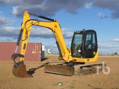 2008 JCB 8080ZTS Midi Excavator (5 - 9.9 Tons)