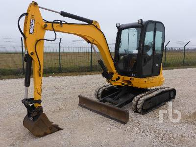 2007 JCB 8035ZTS Mini Excavator (1 - 4.9 Tons)