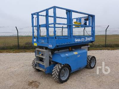2008 GENIE GS3268RT 4x4 Scissorlift