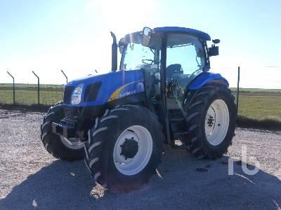 2012 NEW HOLLAND T6010 4WD MFWD Tractor