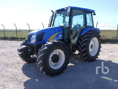 2012 NEW HOLLAND T5050 4WD MFWD Tractor