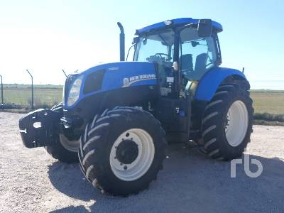 2013 NEW HOLLAND T7.210 4WD MFWD Tractor