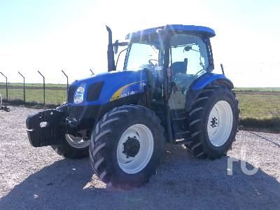 2012 NEW HOLLAND T6020 4WD MFWD Tractor