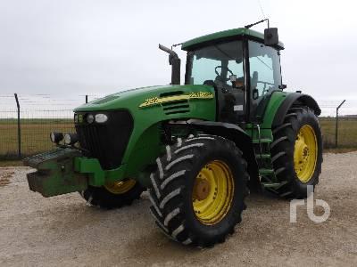 2004 JOHN DEERE 7820 MFWD Tractor