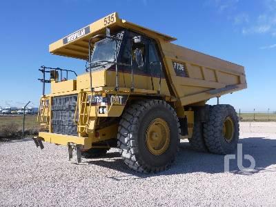2003 CATERPILLAR 773E 4x4 Rock Truck