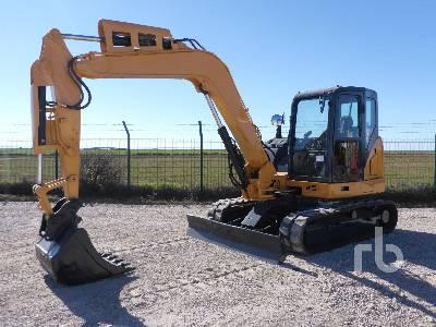 2016 CASE CX80C Mini Excavator (1 - 4.9 Tons)