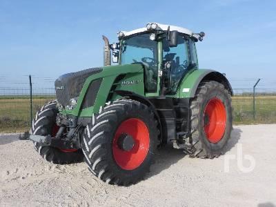 2010 FENDT 824 VARIO 4WD MFWD Tractor