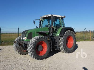 2003 FENDT FAVORIT 920 4WD MFWD Tractor
