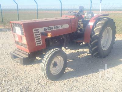 1985 FIAT 666EF 2WD Utility Tractor