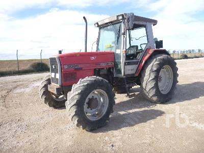 1995 MASSEY FERGUSON 3085 4WD MFWD Tractor