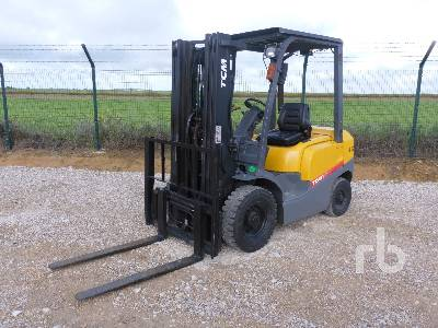 2008 TCM FHD25T3A Forklift