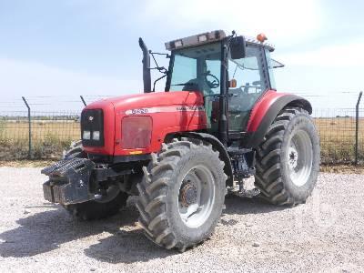 2000 MASSEY FERGUSON 8220 4WD MFWD Tractor