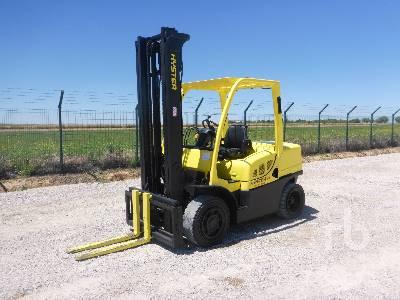 2010 HYSTER H80FT Forklift