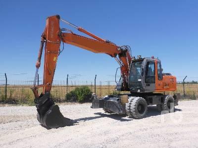 2004 FIAT-HITACHI ZX160W 4x4 Mobile Excavator