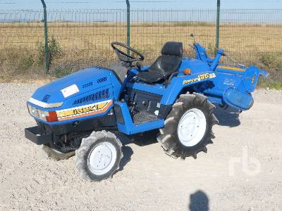 ISEKI TU125F 4WD Utility Tractor