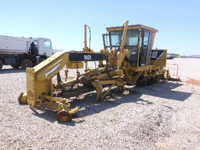 2007 CATERPILLAR 140H Motor Grader (PARTS ONLY) Parts/Stationary Construction-Other