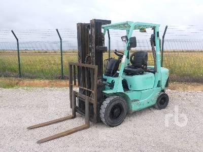 2002 MITSUBISHI FD25 Forklift